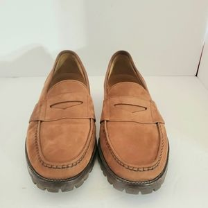 Cole-Haan #00531 Brown Suede Loafers